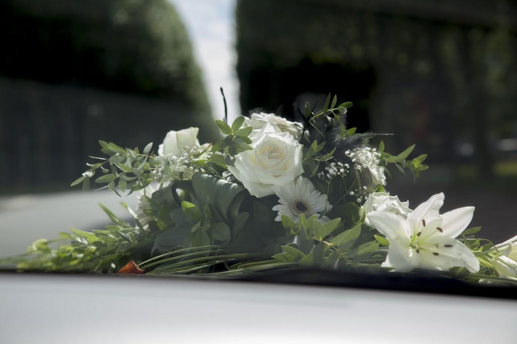 bouquet mariage limousine