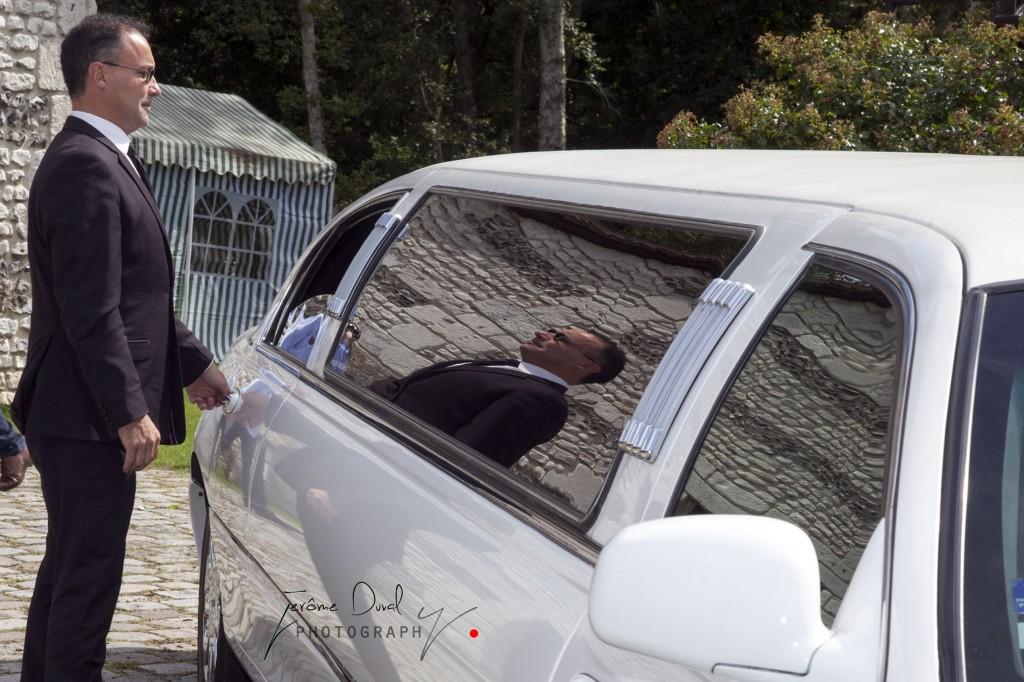 ouverture porte limousine