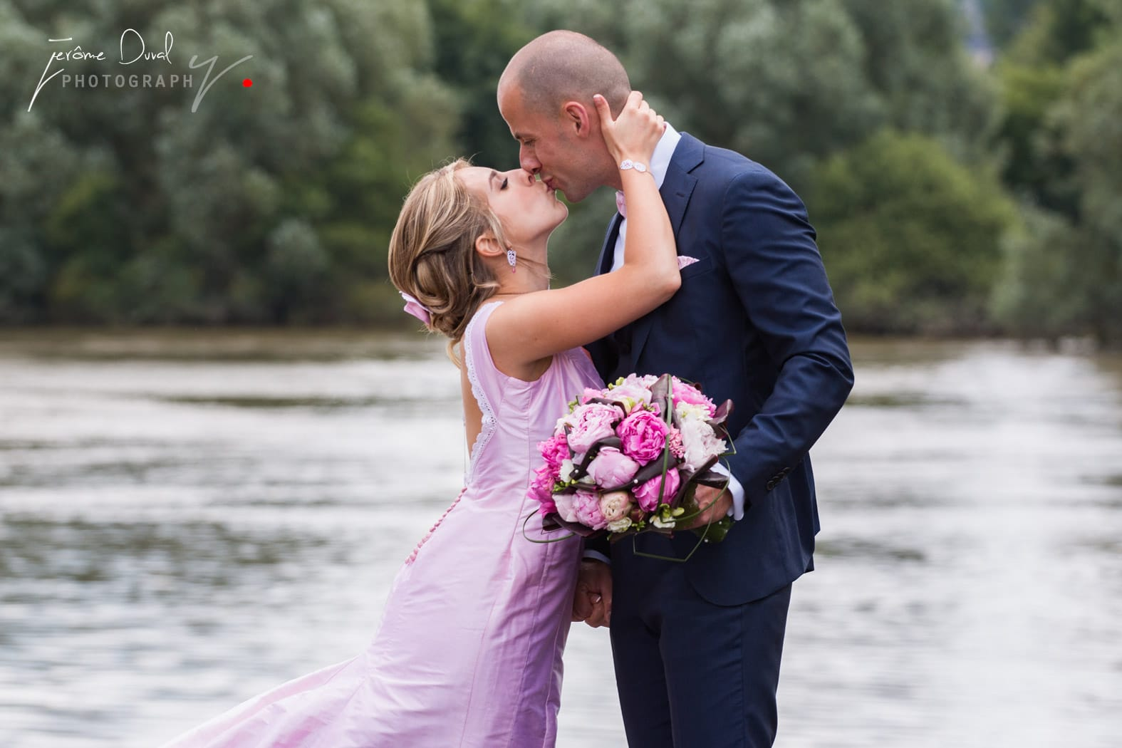 Baisé de la mariée